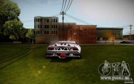 Lamborghini Sesto Elemento für GTA San Andreas zurück linke Ansicht