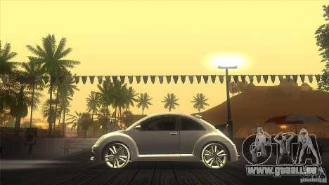 Volkswagen Beetle Tuning für GTA San Andreas linke Ansicht