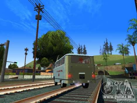 Urgence de RAPH-977IM pour GTA San Andreas sur la vue arrière gauche