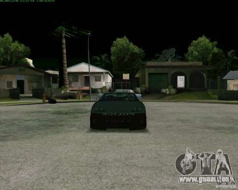 Supergt - Police S für GTA San Andreas linke Ansicht