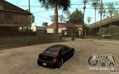 Chrysler 300C DUB pour GTA San Andreas vue de droite