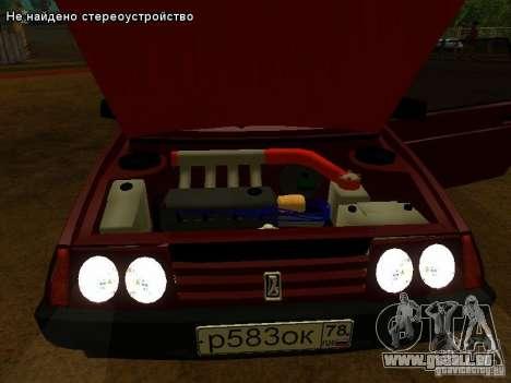 VAZ 2109 pour GTA San Andreas salon