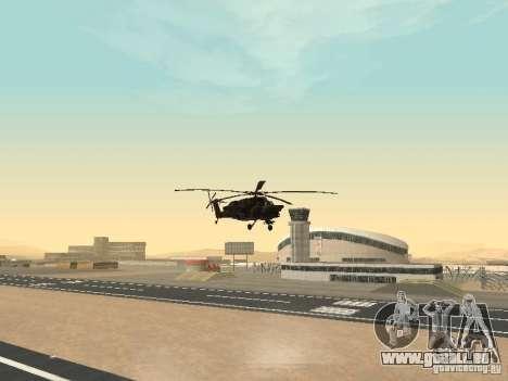 Mil Mi-28 für GTA San Andreas Innenansicht