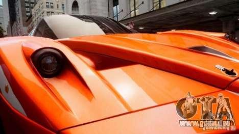 Ferrari FXX Evoluzione pour GTA 4 est une vue de l'intérieur