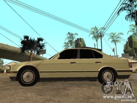 BMW 520i für GTA San Andreas linke Ansicht