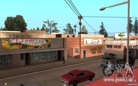 Mise à jour Palamino Creek pour GTA San Andreas deuxième écran
