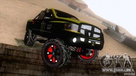 Dodge Ram 4x4 für GTA San Andreas linke Ansicht
