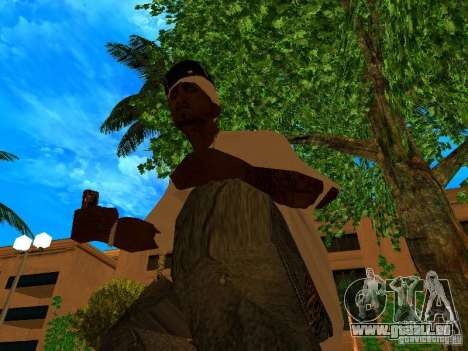 New Weapon Pack pour GTA San Andreas troisième écran