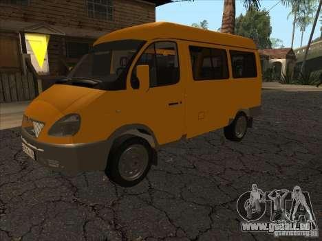 GAZ 22171 Sable pour GTA San Andreas laissé vue