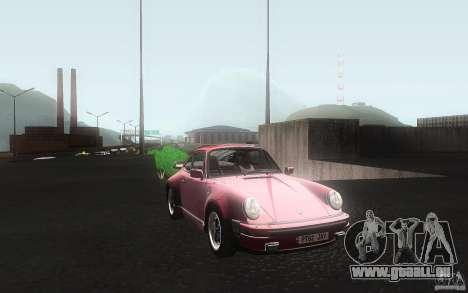 Porsche 911 Turbo 1982 pour GTA San Andreas vue intérieure