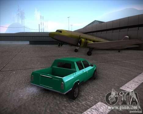 AZLK 2335-21 pour GTA San Andreas laissé vue