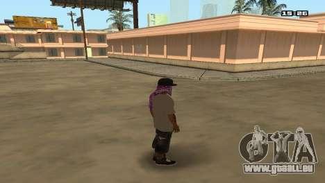 Skin Pack Ballas für GTA San Andreas zweiten Screenshot