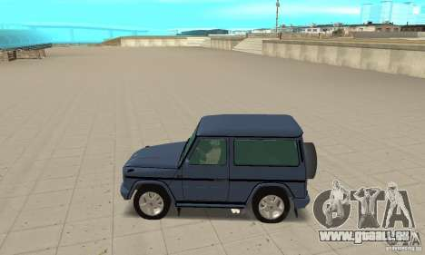Mercedes-Benz G500 1999 Short [with kangoo v3] für GTA San Andreas linke Ansicht