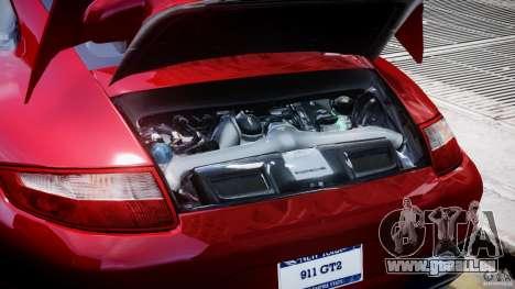Posrche 911 GT2 für GTA 4 Rückansicht