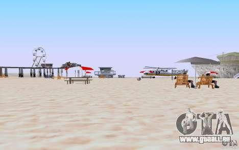 Reality Beach v2 pour GTA San Andreas deuxième écran