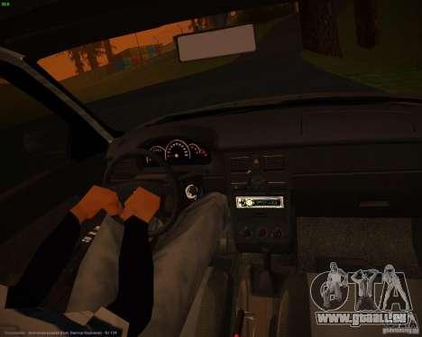 VAZ-2171-Restajl für GTA San Andreas Rückansicht