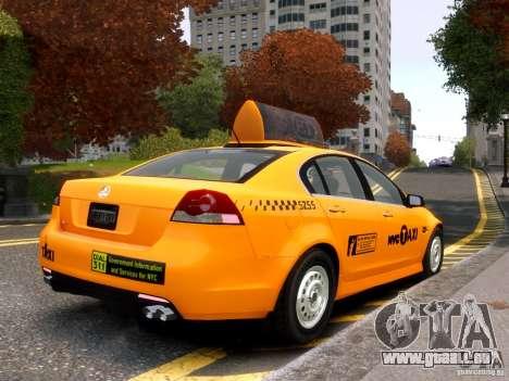 Holden NYC Taxi für GTA 4 rechte Ansicht