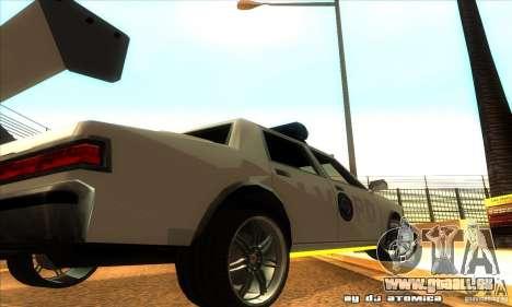 Police Hero v2.1 pour GTA San Andreas vue arrière