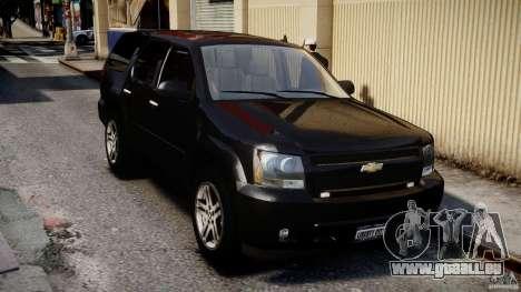 Chevrolet Tahoe 2007 pour GTA 4 est un côté