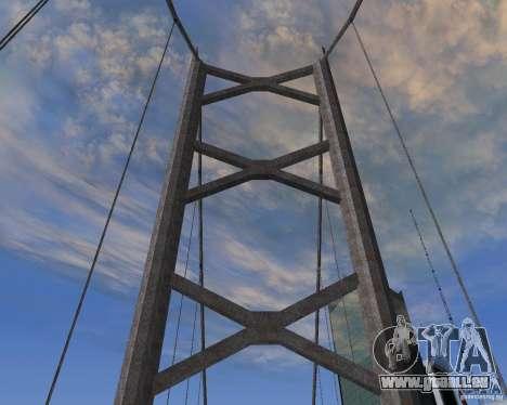 Neue Texturen der drei Brücken in SF für GTA San Andreas zweiten Screenshot