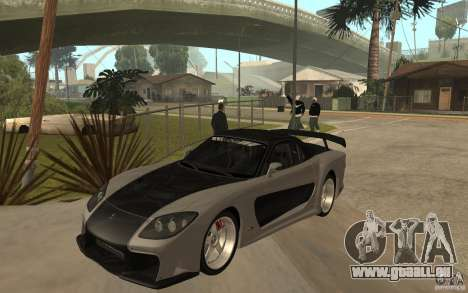 Mazda RX 7 VeilSide Fortune v.2.0 für GTA San Andreas
