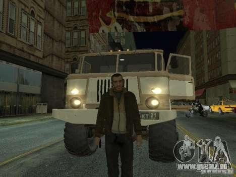 GAZ 66 Parade pour GTA San Andreas laissé vue
