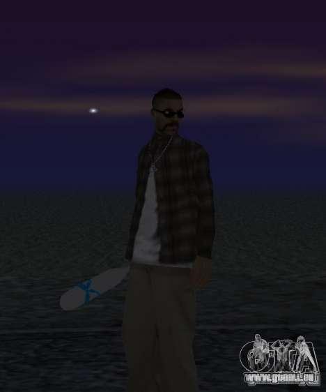 Bat El Coronos v.1.0 pour GTA San Andreas deuxième écran