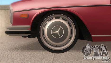 Mercedes-Benz 300 SEL pour GTA San Andreas vue de côté