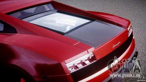 Lamborghini Gallardo LP570-4 Superleggera 2011 pour GTA 4 est une vue de dessous