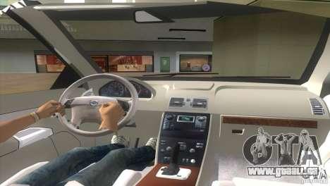 Volvo XC90 für GTA Vice City zurück linke Ansicht
