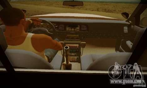 Ford Crown Victoria Missouri Police für GTA San Andreas zurück linke Ansicht