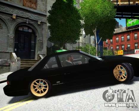 Nissan Silvia S13 pour GTA 4 est une gauche
