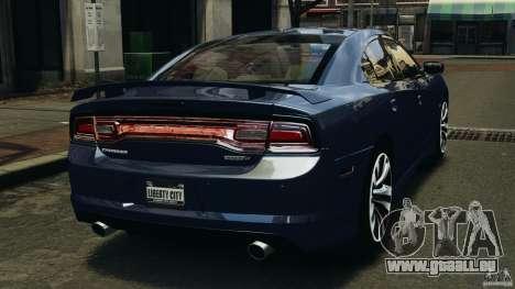 Dodge Charger SRT8 2012 v2.0 pour GTA 4 Vue arrière de la gauche