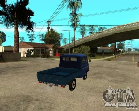 UAZ 39094 für GTA San Andreas zurück linke Ansicht