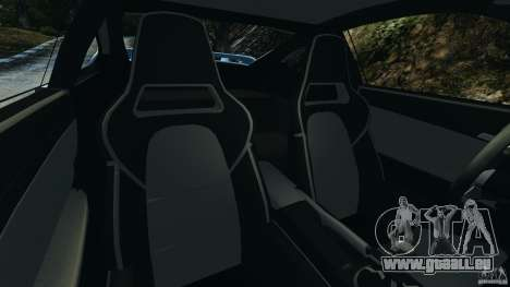 Porsche 997 GT2 pour GTA 4 est une vue de l'intérieur
