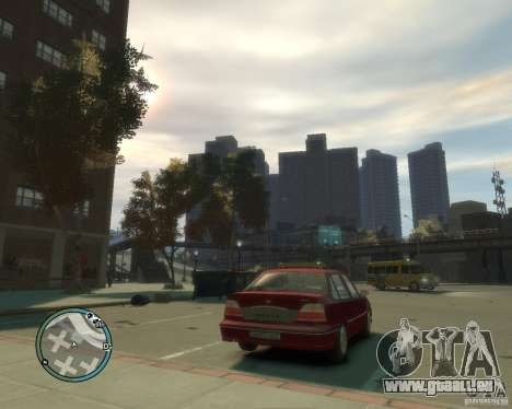 Daewoo Nexia DOHC pour GTA 4 Vue arrière de la gauche