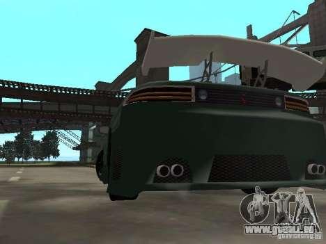Mitsubishi 3000GT pour GTA San Andreas vue de dessous