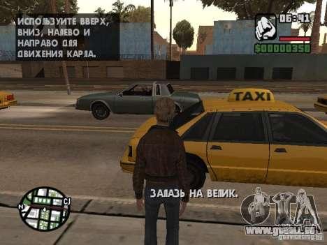 Lucy Stillman in Assassins Creed Brotherhood für GTA San Andreas dritten Screenshot