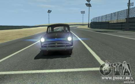 Moskvitch 407 v2.0 pour GTA 4 Vue arrière de la gauche