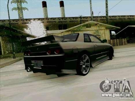 Nissan Skyline GTS-T pour GTA San Andreas sur la vue arrière gauche