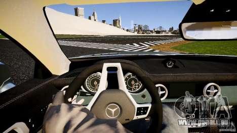 Mercedes-Benz SLK 2012 pour GTA 4 est une vue de l'intérieur