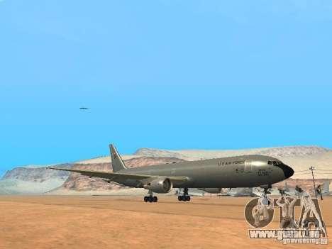 Boeing KC767 U.S Air Force pour GTA San Andreas laissé vue