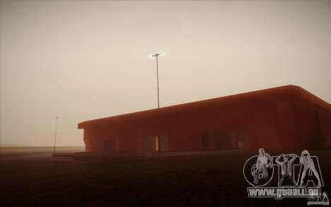 New SF Army Base v1.0 pour GTA San Andreas sixième écran