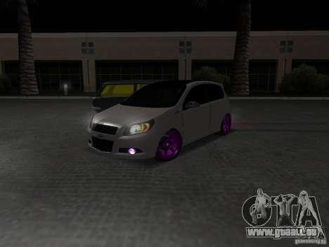 Chevrolet Aveo Tuning für GTA San Andreas rechten Ansicht