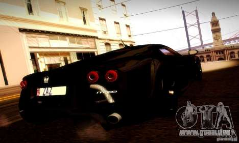 Noble M600 Final für GTA San Andreas Rückansicht