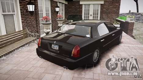 Washington FBI Car für GTA 4 Seitenansicht