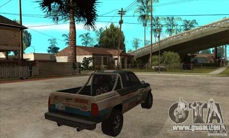 Nevada from FlatOut 2 pour GTA San Andreas vue de droite