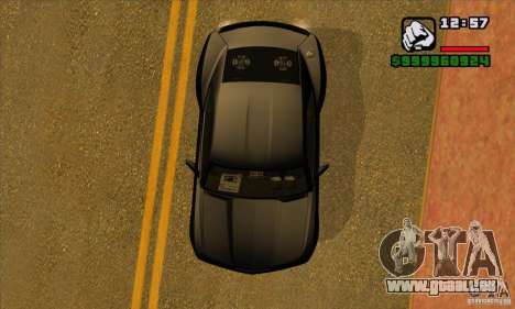 Chevrolet Camaro Concept Z06 2007 für GTA San Andreas Seitenansicht