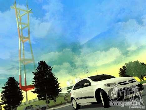 Volkswagen Gol Rallye 2012 für GTA San Andreas zurück linke Ansicht