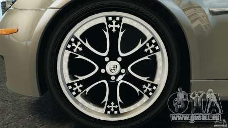 BMW M5 E60 2009 v2.0 pour GTA 4 est une vue de dessous
